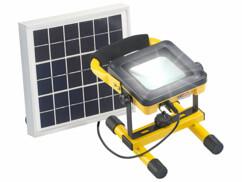Projecteur de chantier LED sans fil 10 W avec triple alimentation