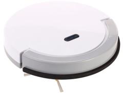 mini robot aspirateur et nettoyeur silencieux avec lingettes nettoyantes PCR-1160 sichler