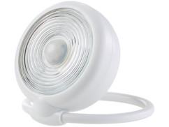 mini lampe balise lumineuse murale avec detecteur de mouvement pour cave et garage forme ronde