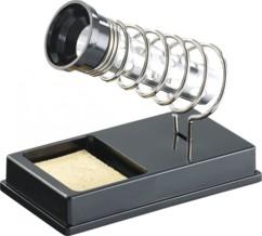 Support compact pour fer à souder - Avec éponge normale