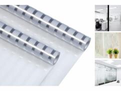 2 films de protection statiques - 50 x 200 cm - Aspect dépoli