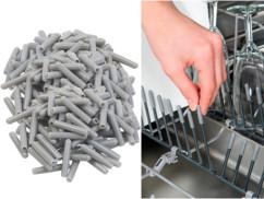 200 capuchons pour panier de lave-vaisselle, coloris gris