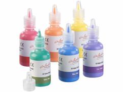 Six tubes de peinture textile Infactory.