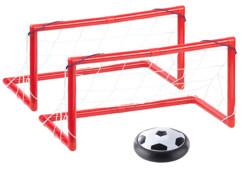 Ballon de football aéroglisseur avec 2 buts d'intérieur
