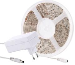 Bande à LED 3 mètres - Blanc - Avec adaptateur secteur 230 V