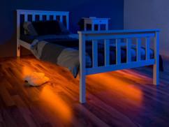 Bande LED pour cadre de lit avec détecteur de mouvement PIR - x2