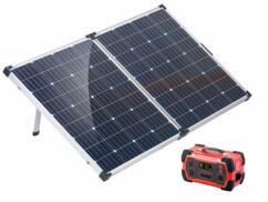 Batterie nomade 216 Ah & Convertisseur solaire HSG-1000 avec panneau 160 W