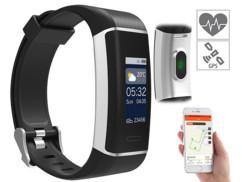 tracker GPS et sport avec capteur rythme cardiaque pour suivi sorties running trekking vélo ski Newgen FBT200