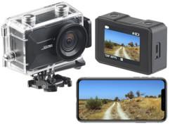 Caméra sport 4K connectée avec wifi, capteur Sony et boîtier étanche DV-3917 V2