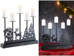 Chandelier à LED ''Veillée de Noël''