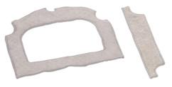 pack de 2 chiffons de remplacement pour robot nettoyeur de vitre automatique pr050 sichler