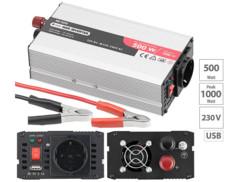 Convertisseur 12V / 220V - 500W