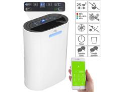 Déshumidificateur 10L/jour compatible Amazon Alexa & Google Assistant LFT-410