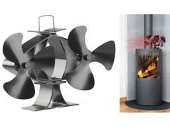 Double ventilateur-répartiteur pour poêle de 65°C à 345°C