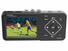 Enregistreur vidéo USB / SD avec écran couleur et entrée 480p/ 576p