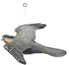 figurine grandeur reelle rapace faucon repousse oiseaux nuisibles dans jardin