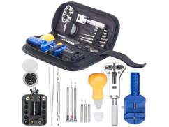kit de 13 outils d'horloger precision etau tournevis pince chasse goupille