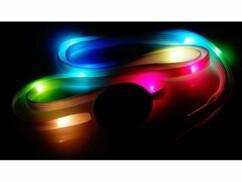 Lacets lumineux à LED - Vert & Couleurs