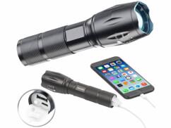 Lampe de poche à LED & batterie d'appoint 2 en 1 TRC-261.pb