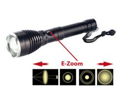 Lampe de poche à LED Cree et E-Zooming