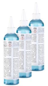 Pack de 3 liquides nettoyants pour vitres, carrelage et sols, 250 ml
