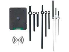 Mécanisme d'horloge radio-piloté sweep avec 3jeux d'aiguilles