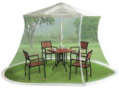 Moustiquaire de parasol à maille 220 - Blanc