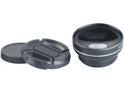 Objectif grand angle pour caméra 4K UHD DV-880.uhd, 0,45x