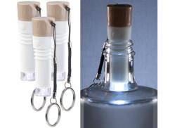 bouchon universel pour bouteille de vin avec led lumineuse integree rechargeable pour mini lampe d'ambiance