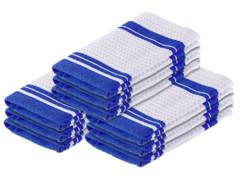 Pack de 9 torchons en microfibres spécial vaisselle