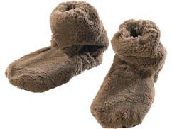 Pantoufles chauffantes à graines de lin - Montantes - 36/38
