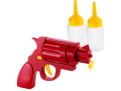 Pistolet pour ketchup, moutarde et sauces
