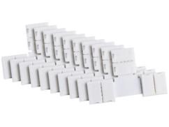10 raccords en T pour bandes à LED multicolores - Intérieur