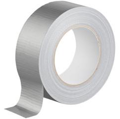 rouleau de 50m de ruban adhesif renforcé résistant duct tape ducttape argenté blanc noir agt