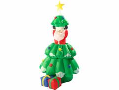 Sapin de Noël autogonflant animé, 155 cm