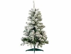 Sapin de Noël style ''enneigé'' 120 cm, 199 branches