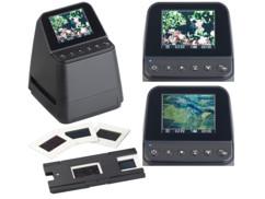 scanner numeriseur diapositive 50mm ou negatif pellicule 110 126 135 avec numerisation sur pc ou carte sd somikon sd-1404