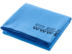 Serviette de bain microfibre 140 x 70 cm, bleu