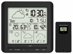 Station météo connectée avec capteur extérieur FWS-500