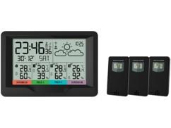 Station météo sans fil avec 3 capteurs.