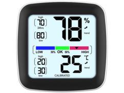 Thermomètre-hygromètre avec écran LCD.