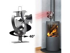 Ventilateur-répartiteur oscillant pour poêle
