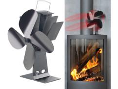 ventilateur pour diffusion chaleur pour poeles a bois granules pelet faience