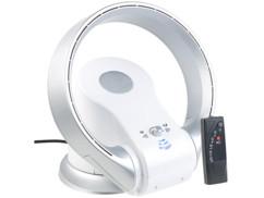 ventilateur sans pales design avec télécommande réversible chauffant pour été ou hiver LV-1000