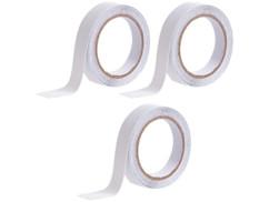 3 rubans adhésifs antidérapants & résistants à l'eau 4m - Transparent - Ø 24mm