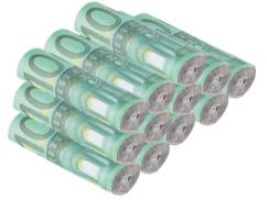 pack de 12 rouleaux allume feux trompe oeil rouleaux de billets verts 100e