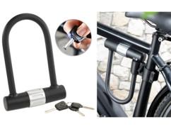 cadenas en U pour moto scooter vélo avec support de fixation sur cadre