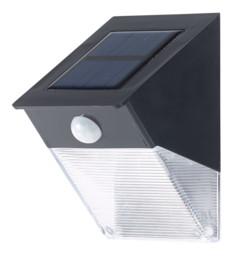 applique murale solaire LED avec détecteur PIR royal gardineer