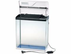 Aquarium Nano complet avec pompe, filtre et éclairage LED - 40 L