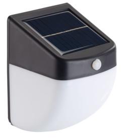 applique murale balise veilleuse solaire avec detecteur de mouvement faible consommation lunartec